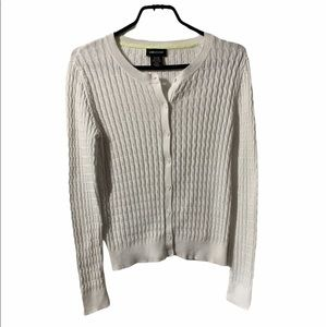 Lord and Taylor Button Down Sweater